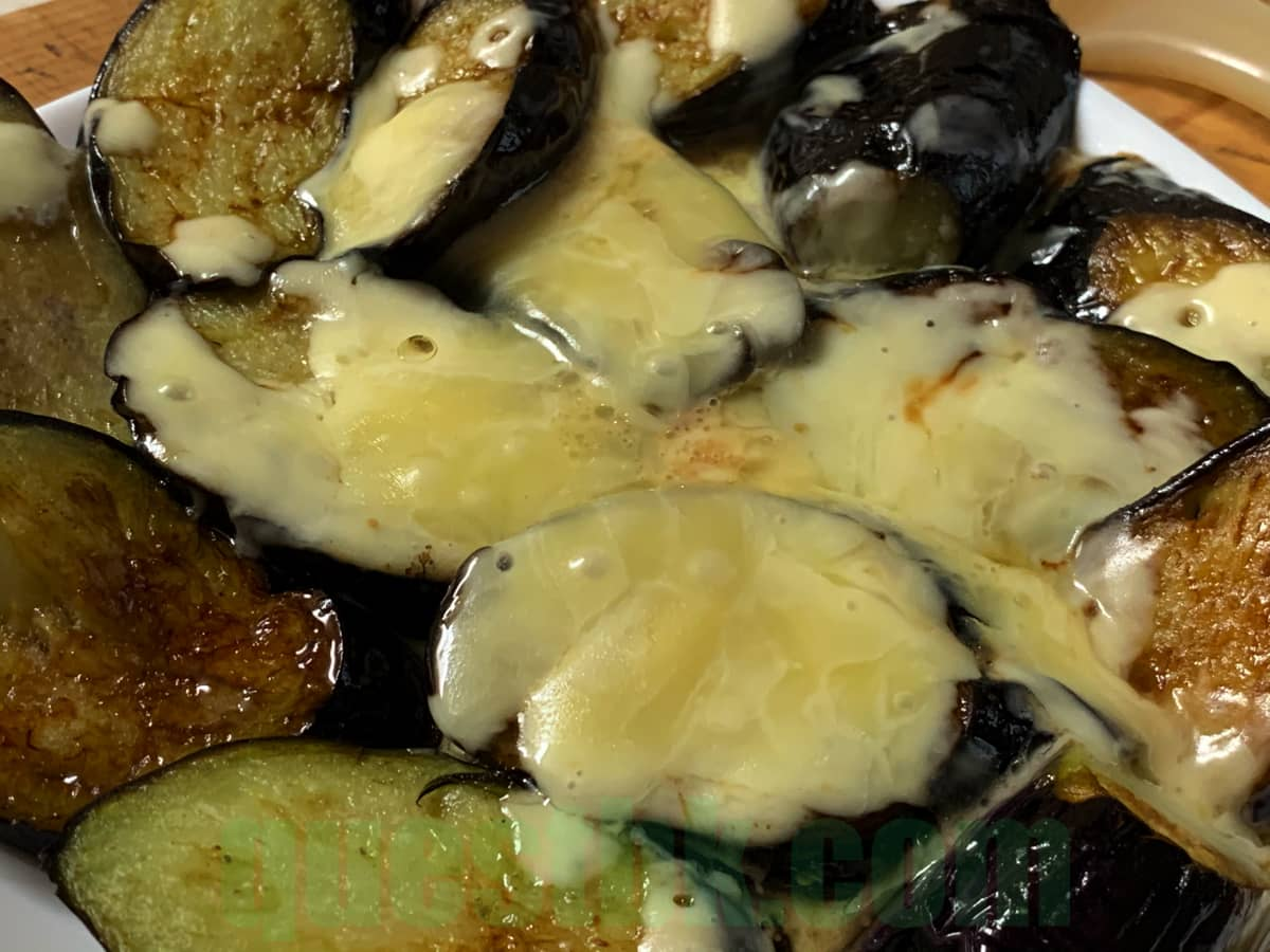 フライパンで作る簡単ナスのチーズ焼き