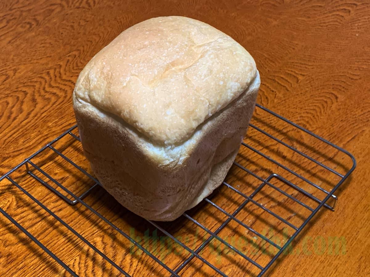 シルバーライズを使ったパン・ド・ミが焼き上がった