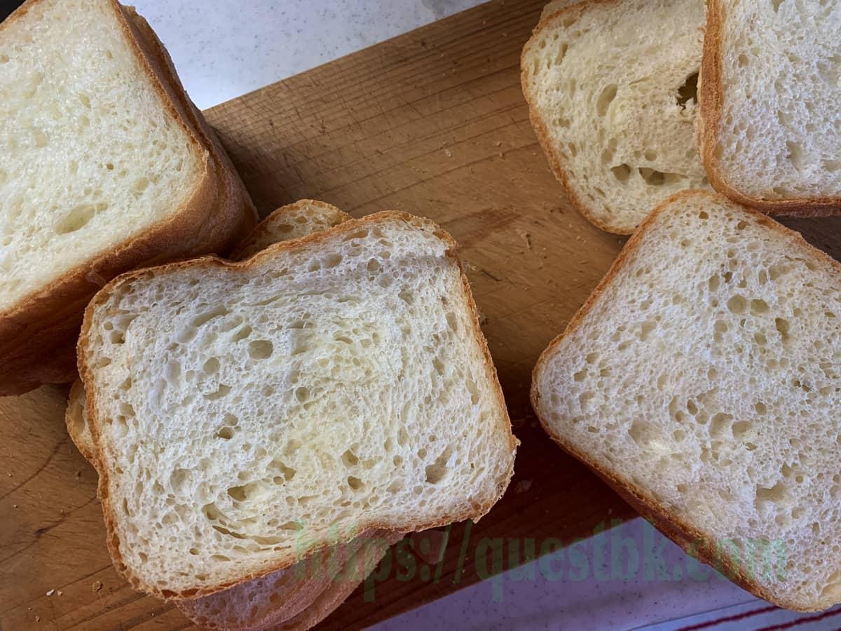 シルバーライズで作るパン・ド・ミ